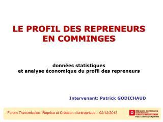 Forum Transmission- Reprise et Création d'entreprises – 02/12/2013