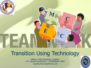Transition Using Technology