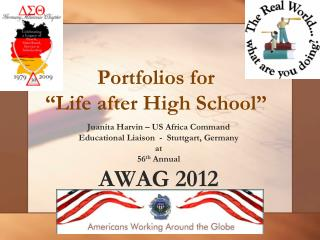 "Portfolios for  ""Life after High School"""