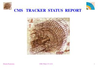 CMS   TRACKER  STATUS  REPORT