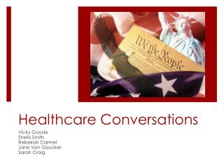 Healthcare Conversations