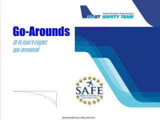 Go-Arounds If it isn ' t right  go around