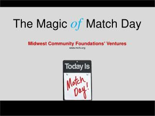 Midwest Community Foundations' Ventures mcfv