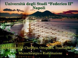 """Università degli Studi """"Federico II"""" Napoli"""