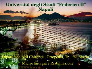 Universit� degli Studi �Federico II� Napoli