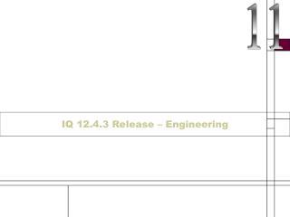 IQ 12.4.3 Release – Engineering