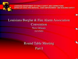 Louisiana Burglar  Fire Alarm Association Convention New Orleans  11