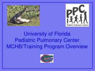 University of Florida Pediatric Pulmonary Center MCHB/Training Program Overview