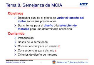 Tema 8. Semejanza de MCIA