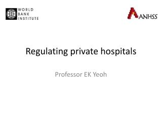 Regulating private hospitals
