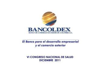 VI CONGRESO NACIONAL DE SALUD DICIEMBRE  2011