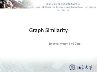 Graph Similarity