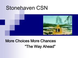 Stonehaven CSN