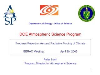 DOE Atmospheric Science Program