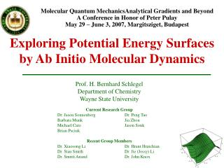 Exploring Potential Energy Surfaces by Ab Initio Molecular Dynamics