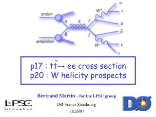 Bertrand Martin  – for the LPSC group D ø  France Strasbourg 11/26/07