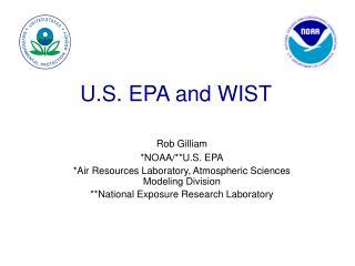 U.S. EPA and WIST