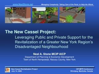 Neal A. Stone MCIP AICP Department of Planning & Economic Development