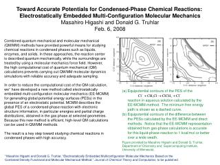 Toward Accurate Potentials for Condensed-Phase Chemical Reactions: