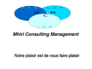Mhiri Consulting Management