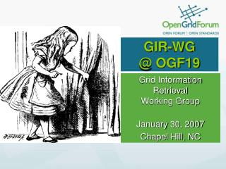 GIR-WG  @ OGF19