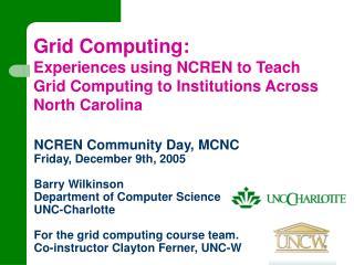 Grid Computing: