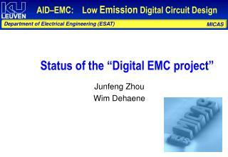 Junfeng Zhou Wim Dehaene