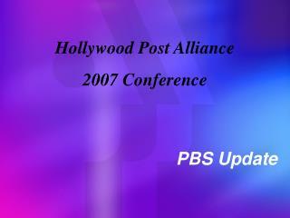 PBS Update