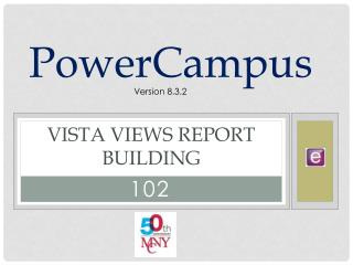 Vista Views Report Building
