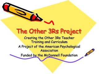 The Other 3Rs Project