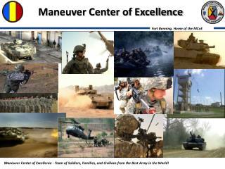Maneuver Center of Excellence