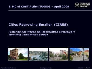 Cities Regrowing Smaller  (CIRES)