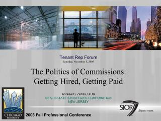 2005 Fall Professional Conference