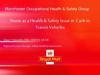Manchester Occupational Health & Safety Group