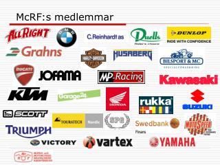 McRF:s  medlemmar