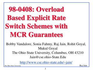 98-0408: Overload  Based Explicit Rate Switch Schemes with MCR Guarantees