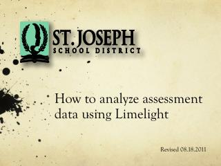 How to analyze assessment data using Limelight