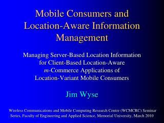 Location-Aware  m -Commerce