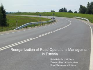 Road Maintenance in Estonia