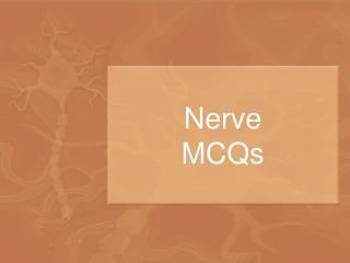 Nerve MCQs