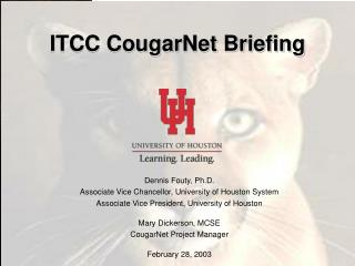 ITCC CougarNet Briefing