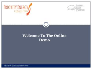 Welcome To The Online Demo