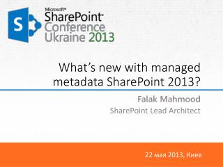 What�s  new with managed metadata SharePoint  2013?