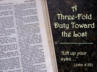 Jesus Sends Laborers into the Harvest