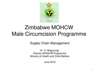 Zimbabwe MOHCW Male Circumcision Programme