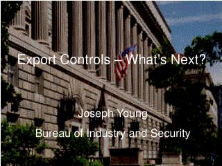 Export Controls—What's next?