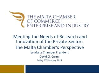 Meeting the Needs of Research and Innovation of the Private Sector: