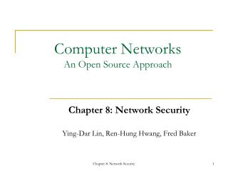 Computer Networks An Open Source Approach