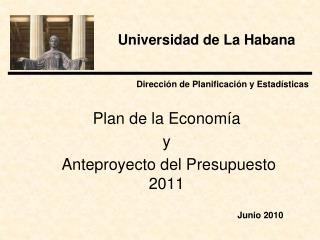 Dirección de Planificación y Estadísticas