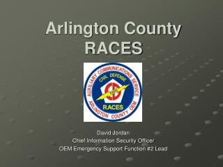 Arlington County RACES